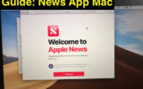 1 News App on Mac OS Mojace how to use and issues