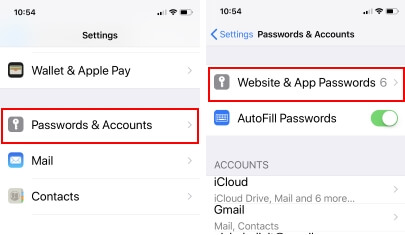 1 Share password from iPhone to Mac using Airdrop