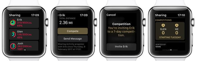1 Start Activity Competition in WatchOS 5 on Apple Watch