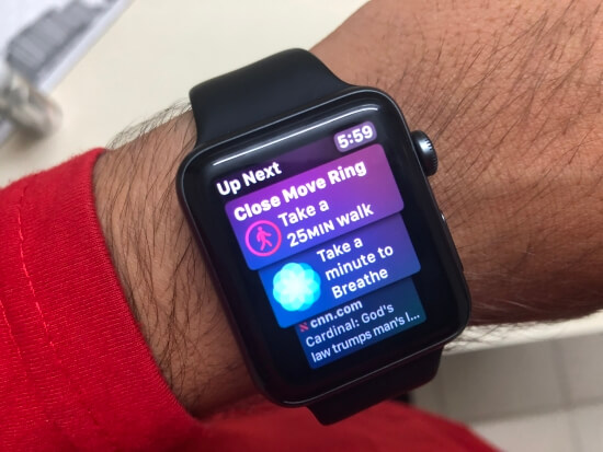 1 Use Apple Watch Siri Face