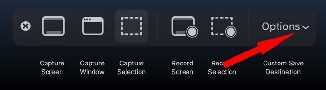 2 Пользовательское место сохранения для снимка экрана на Mac с MacOS Mojave (1)