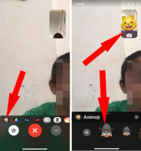 Use Animoji and Memoji on FaceTime Video Call in iOS 12 on iPhone and iPad, Effects
