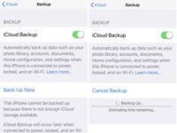 2 iCloud Backup not fixed