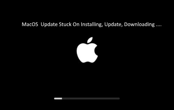 3 MacOS Stuck and Stopped installation