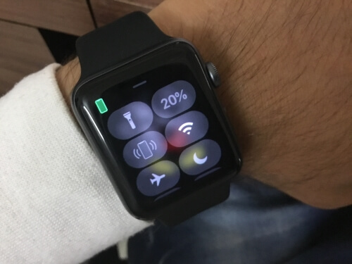 customize control center on Apple Watch in watchOS 5