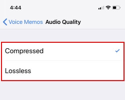 4 Audio Quality in Voice Memo on iPhone and iPad (1)