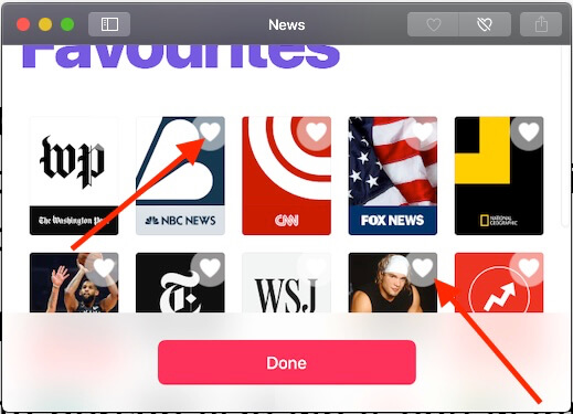 4 add new news channel or Stories on Mac