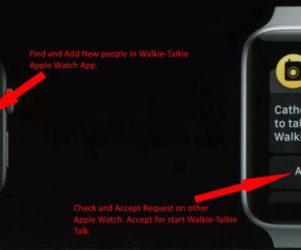 5 Receive Walkie Talkie Notification on apple watch