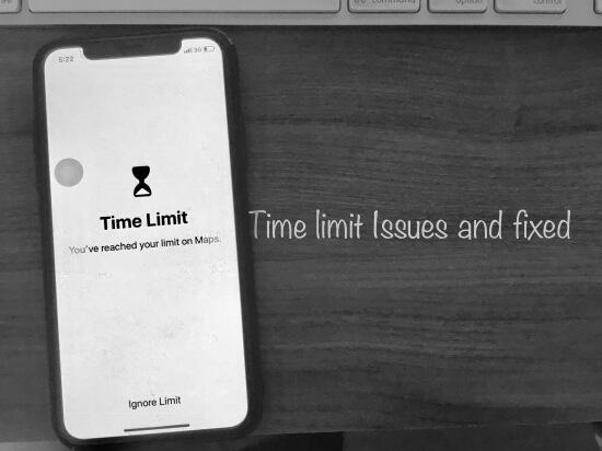 6 Screen Time error Fixed in iOS 12 on iPhone and iPad