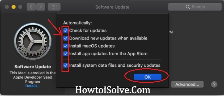 Automatically Download install App updates files and security updates