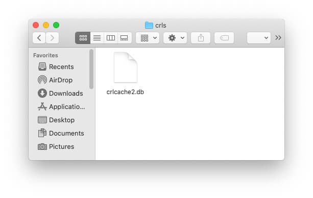Clear DB Cache on Mac