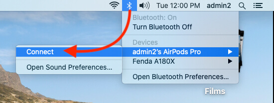 Connect USB or External Bluetooth Headphone on Mac for FaceTime