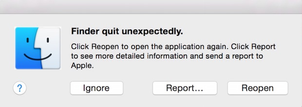 Fix Finder Quit Unexpectedly on Mac