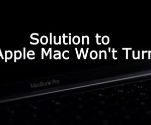 Fix Mac Wont turn on macos mojave 10.14 macbook pro macbook air