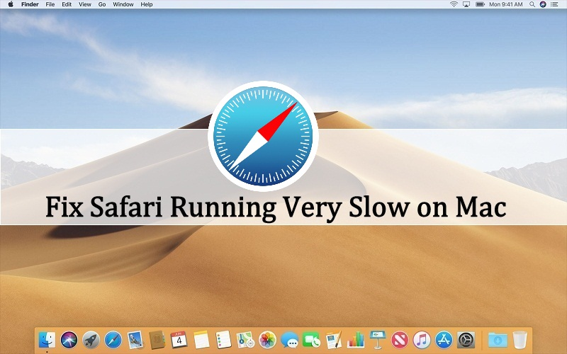 safari running very slow on mac
