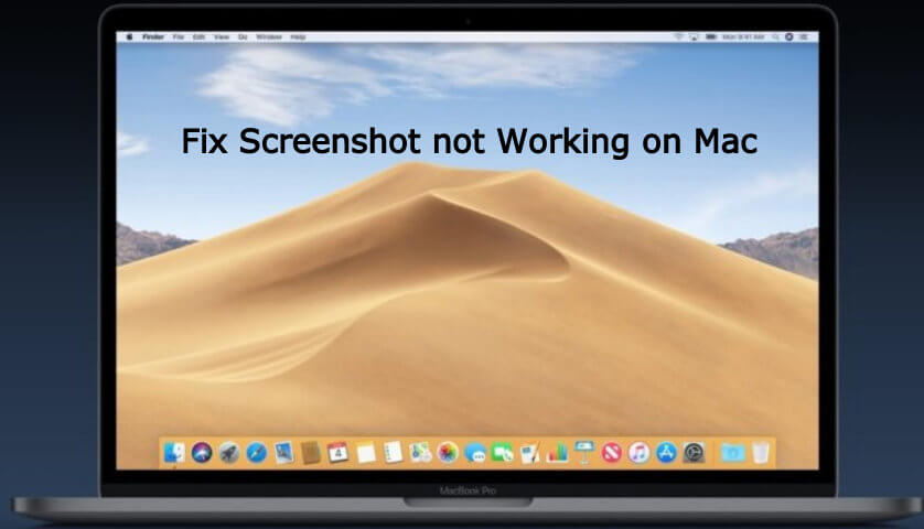 Fix Screenshot on Mac not working in macOS Mojave