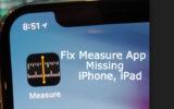 Find iOS 12 Measure App Missing on iPhone