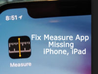 Find iOS 12 Measure App Missing on iPhone