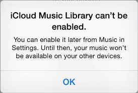 Fix iOS 12 iCloud music library cannot be enabled Error on iPhone or iPad