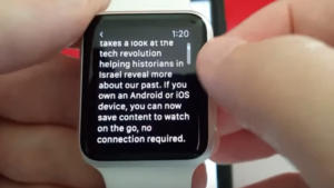 how to connect to the internet on apple watch 4, apple watch 3 in watchOS 5