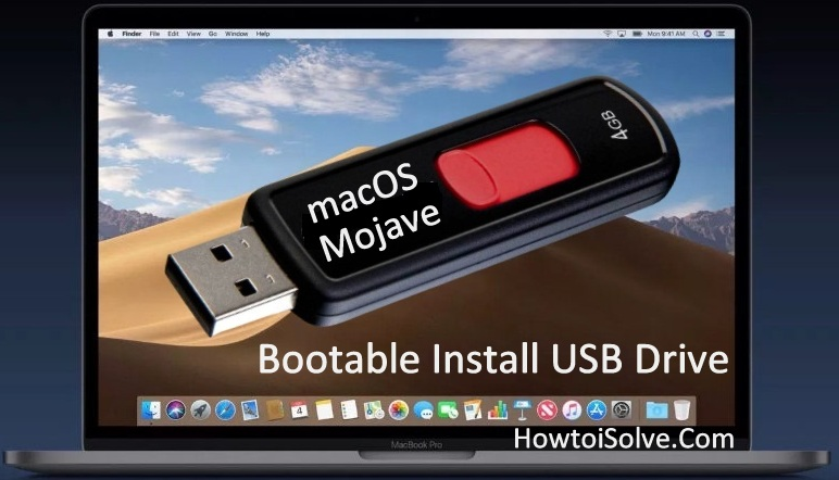 How to Make macOS Mojave Beta Bootable Install USB Drive
