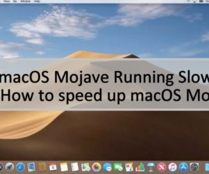 How to Speed up macos Mojave running slow on macbook pro Air iMac