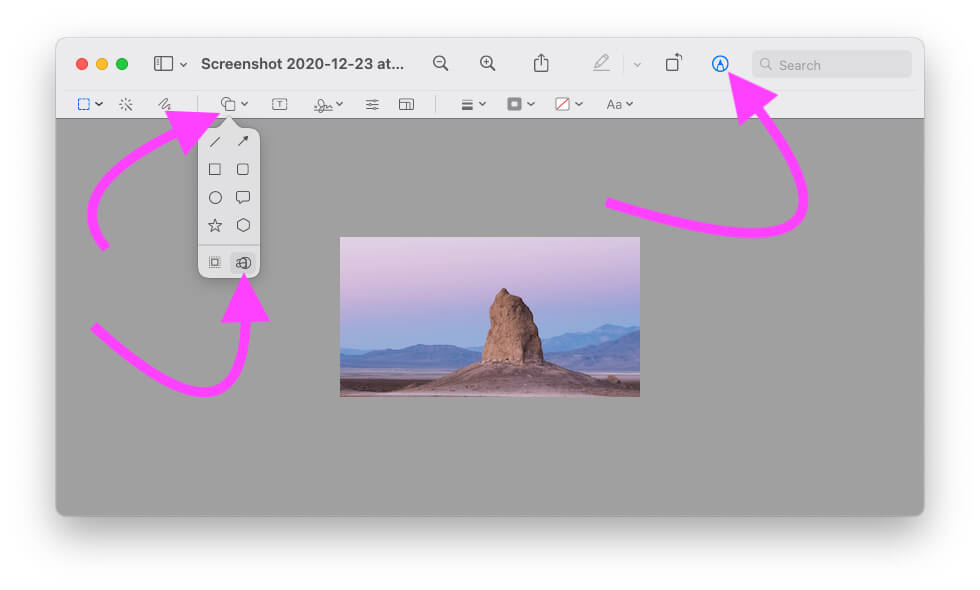 How to Use Zoom Magnification Tool on Mac Preview