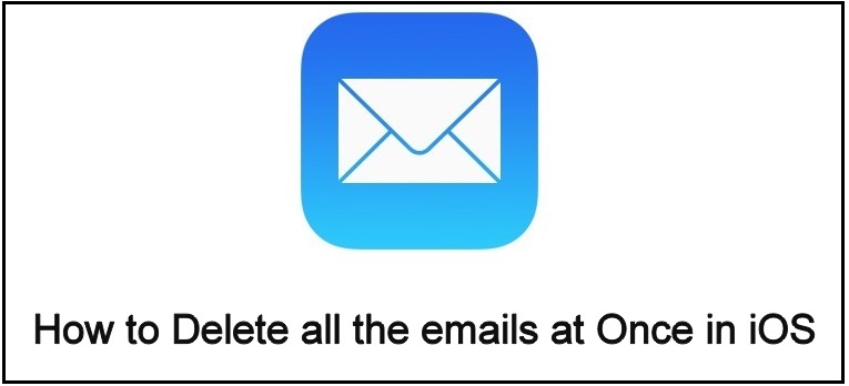 How to delete all the emails at once iOS 12 on iPhone and iPad