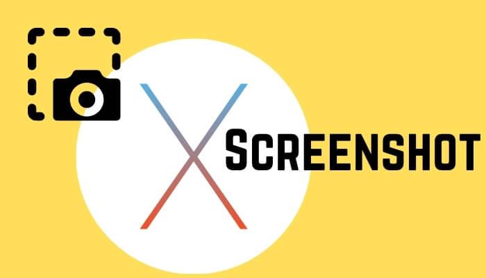 Screenshot on MacOS on MacBook and Mac