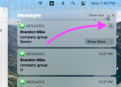Stop Prominently Receive Message on macOS Notification
