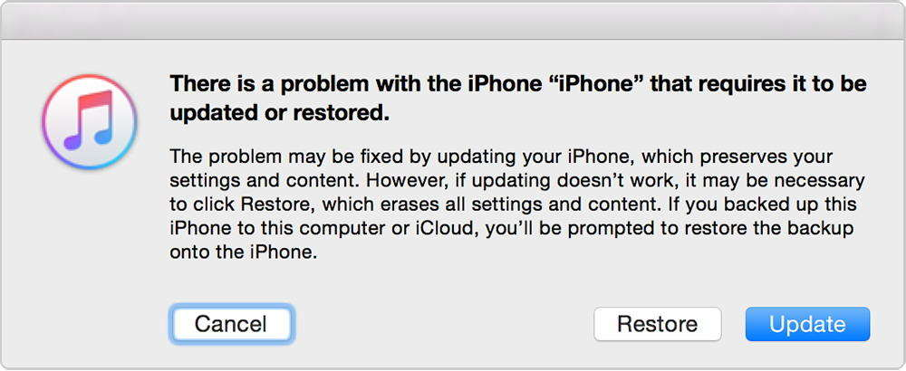how to fix iPhone stuck in recovery mode after iOS 12 update