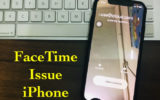 1 FaceTime issues on New iPhone Video call