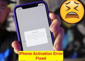 iOS12 iPhone Activation Error 0xe8000013 with iTunes for iPhone XS Max/XR/8/7/6S