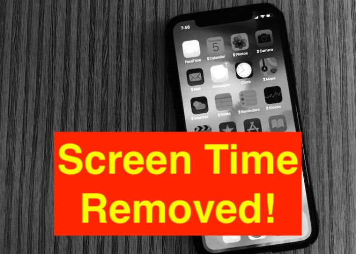 1 remove or Bypass screen TIme on iPhone if forgot screen time passcode