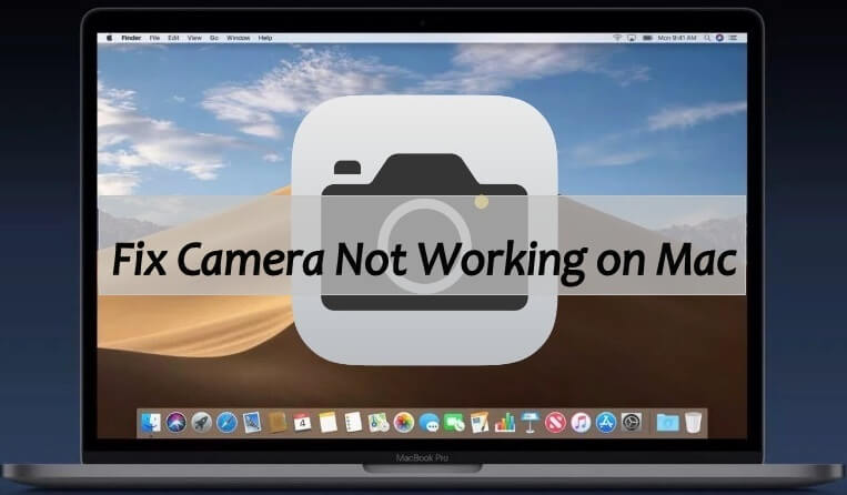 mac camera not turning on