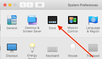 2 Dock Settings on MacOS Mojave