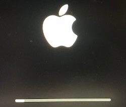 2 Reboot in Reinstall Mac for Mojave