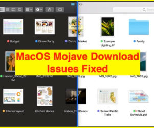 3 Download Problem Fixed on MacOS Mojave