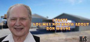 Five Things You may not know About Ronald Wayne