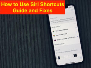 Siri Shortcuts Not Working in iOS 12 on iPhone X/ iPhone 8/8 Plus/7(Plus)