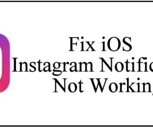 Fix Instagram Notifications Not Working on iPhone iPad