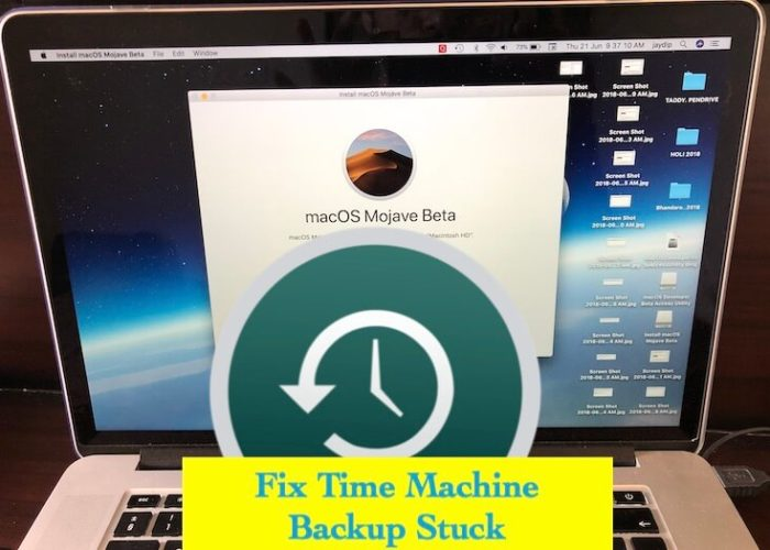 1 Fix Time Machine Backup Stuck and in Progress