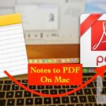 How to Export Notes as PDF in Mac: Backup Notes Mac in to PDF