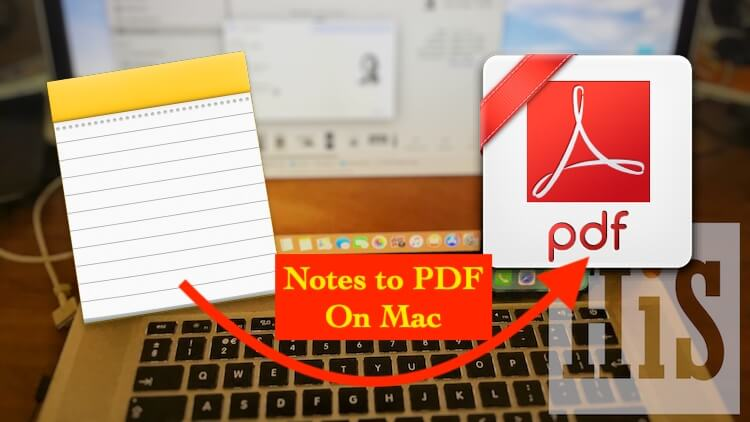 3 Export notes to PDF On Mac