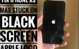 4 Methods to Get fix iPhone XS Max stuck on Apple logo Black Screen or Blue Screen