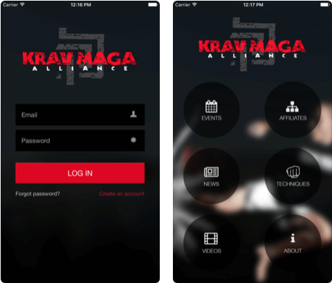 5 Krav Maga Self-Defense iPhone apps