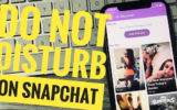 6 Do Not Disturb on iPhone Snapchat in iOS