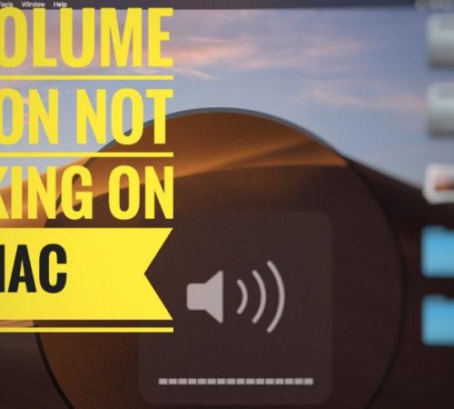 Fix Mac Volume Buttons Not Working