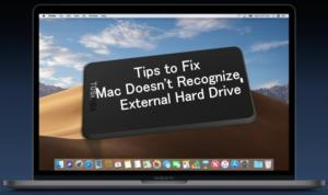 Tips to Fix Mac Doesn't Recognize External Hard Drive on MacBook Pro/ MBA/ iMac Pro