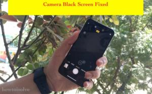 Camera Screen is Black on iPhone XS Max & iPhone XS on Lock & Home Screen: Problems and Fixes
